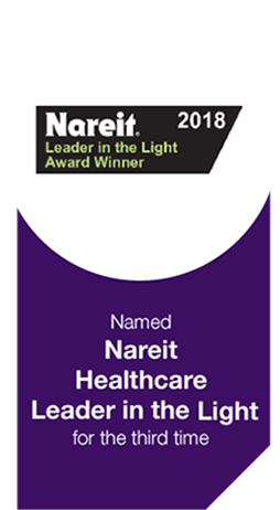 Nareit Healthcare Leader in the Light