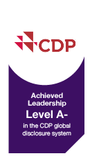 Achieved Leadership Level A in the CDP system