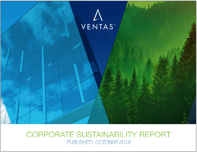 Ventas 2019 Corporate Sustainability Report